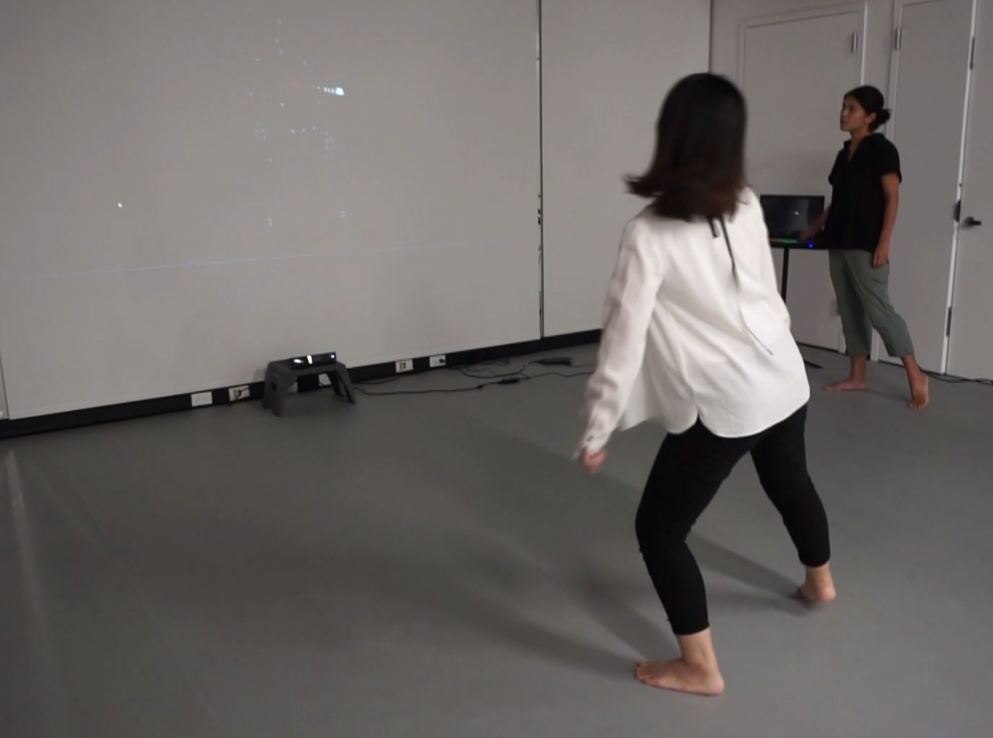 use of Kinect cameras at a Dance that is Now